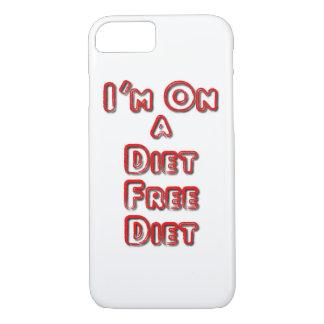 Ich bin auf einem Diät-freien Diät iPhone 8/7 Fall iPhone 8/7 Hülle