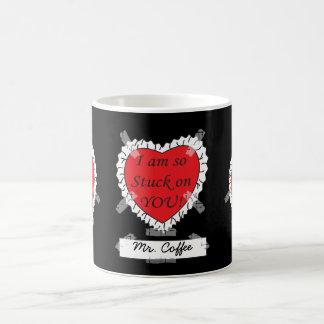 Ich bin auf Ihnen so fest Kaffeetasse