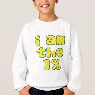 Ich bin das 1% sweatshirt