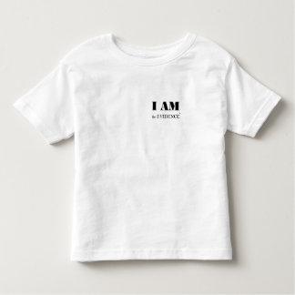 Ich bin das Beweis-Kleinkind-T-Stück Kleinkind T-shirt