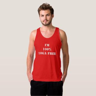 Ich bin das freie Yoga 100% Tank Top