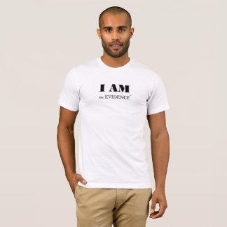 Ich bin das männliche T-Stück des Beweis-(TM) T-Shirt