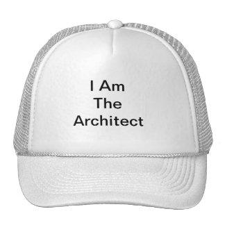 Ich bin der Architekt Trucker Kappe