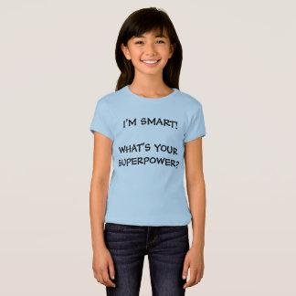 Ich bin der Babydoll-T - Shirt der intelligenten