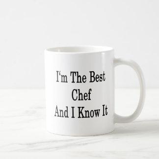 Ich bin der beste Koch und ich kenne es Kaffeetasse