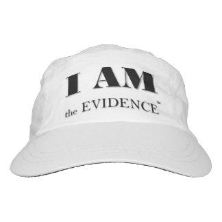 ICH BIN der Beweis-Leistungs-Hut Headsweats Kappe