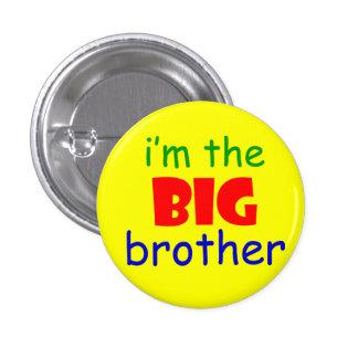 Ich bin der Bruderknopf Runder Button 3,2 Cm