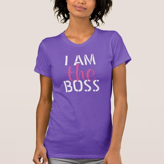 Ich bin der Chef-T - Shirt