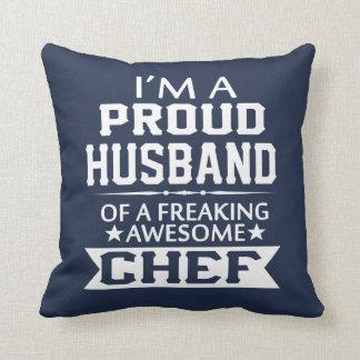 Ich bin der EHEMANN EINES STOLZEN Koch Kissen