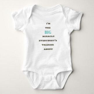 Ich bin der GROSSE Wunder… Babyjungen-T - Shirt