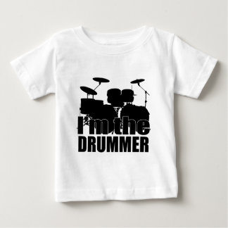 Ich bin der Schlagzeuger Baby T-shirt