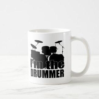 Ich bin der Schlagzeuger Kaffeetasse
