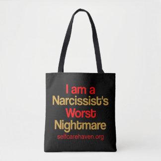 Ich bin der schlechteste Albtraum-DoppelTasche Tasche