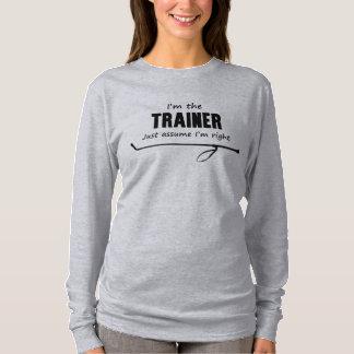 Ich bin der Trainer annehme gerade, dass ich T-Shirt