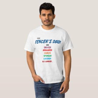 """""""Ich bin der Vati eines Fechters"""" T-Shirt. Nur T-Shirt"""
