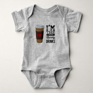 Ich bin die Grund-Mama-Getränke Baby Strampler