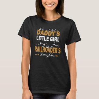 Ich bin die TOCHTER eines RAILROADERS T-Shirt