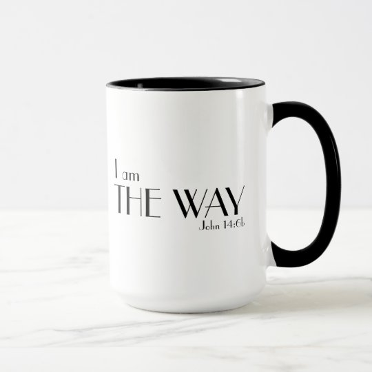 Ich bin die Weisen-Bibel-Vers-christliche Tasse