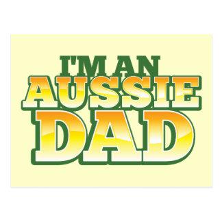 Ich bin ein AUSTRALISCHER VATI! Postkarte