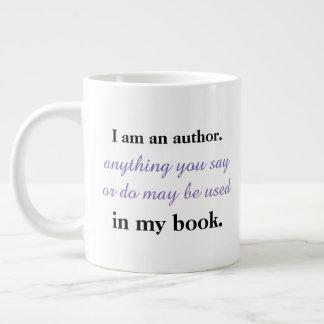 Ich bin ein Autor Jumbo-Tasse