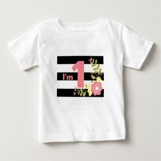 Ich bin ein Baby-feiner Jersey-T - Shirt
