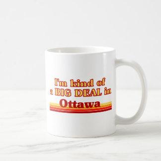 Ich bin ein bisschen eine große Sache in Ottawa Kaffeetasse
