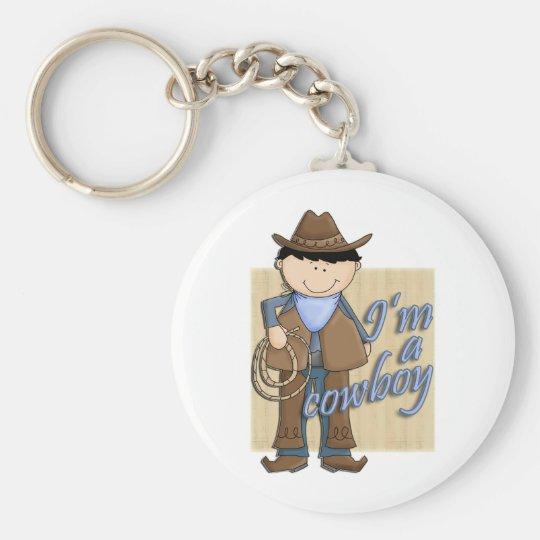 Ich bin ein Cowboy wenig WesternBuckaroo Schlüsselanhänger