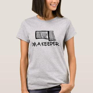 Ich bin ein der Hanes der Wächter-Frauen Nano-T - T-Shirt