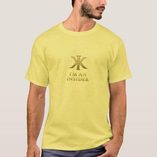 Ich bin ein Eingeweiht-hellfarbiger T - Shirt