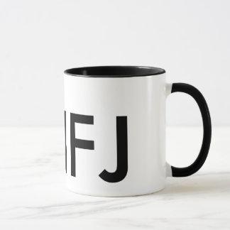 Ich bin ein ENFJ - Persönlichkeitstyp Tasse