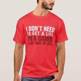 Ich bin ein Gamer T-Shirt