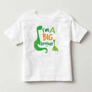Ich bin ein großer Bruder-Jungen-Dinosaurier-T - Kleinkind T-shirt