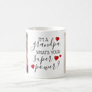 Ich bin ein Großvater, was bin Ihr SuperPower? Kaffeetasse