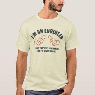 Ich bin ein Ingenieur T-Shirt