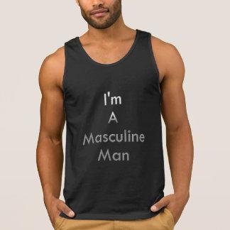 Ich bin ein männlicher Mann Tank Top