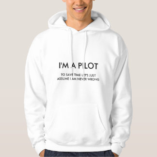 Ich bin EIN PILOT Hoodie