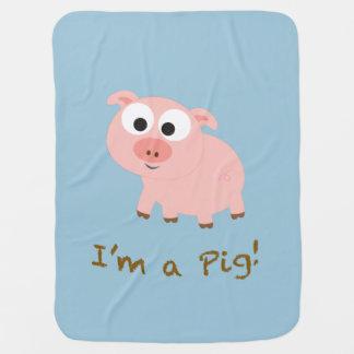 Ich bin ein Schwein! Babydecke