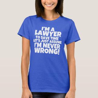 Ich bin ein Shirt der Rechtsanwalt-Frauen