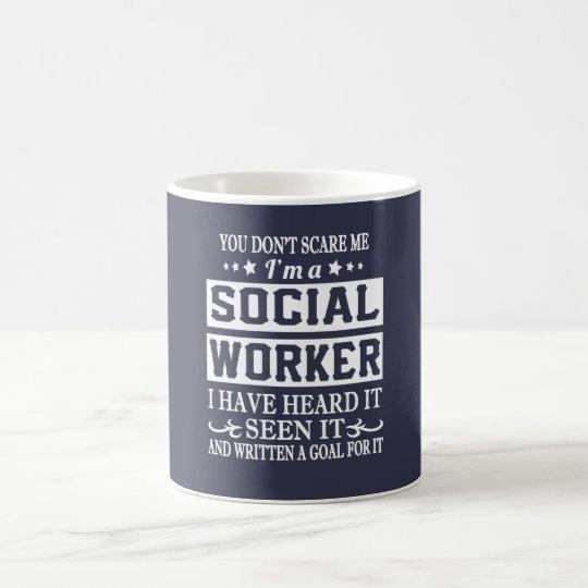 Ich bin ein SOZIALarbeiter Kaffeetasse