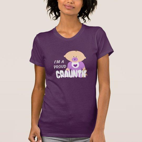 """""""Ich bin ein stolzes Grauntie"""" mit niedlichem Baby T-Shirt"""