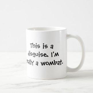 Ich bin ein wombat kaffeetasse