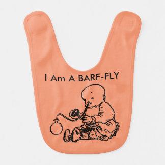 Ich bin eine Barf Fliege Babylätzchen