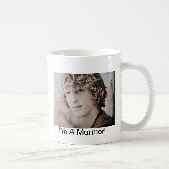 Ich bin eine mormonische Schale Kaffeetasse