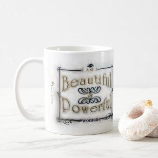 Ich bin eine schöne u. starke Frau Kaffeetasse