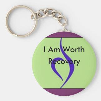 Ich bin Erholung wert Schlüsselanhänger