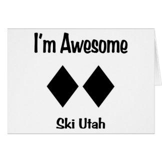 Ich bin fantastischer Ski Utah Karte