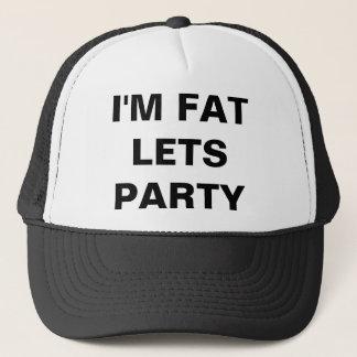 Ich bin FAT LASSE PARTY Truckerkappe