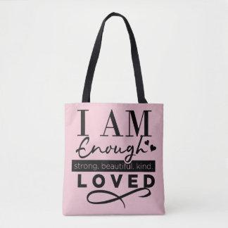 Ich bin genügend Tasche Tasche