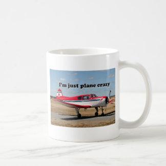 Ich bin gerade das verrückte Flugzeug: Kaffeetasse