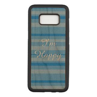 Ich bin glücklicher Fall Samsung S8 Carved Samsung Galaxy S8 Hülle